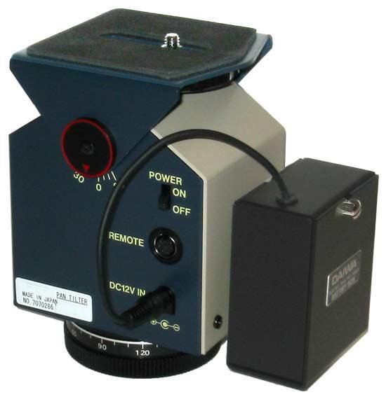 Motorized pan tilt heads manual for the pt400t motorized for Pan and tilt head motorized